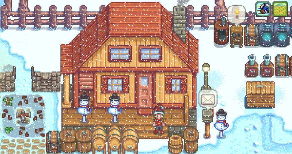 Snowfall_Cabin